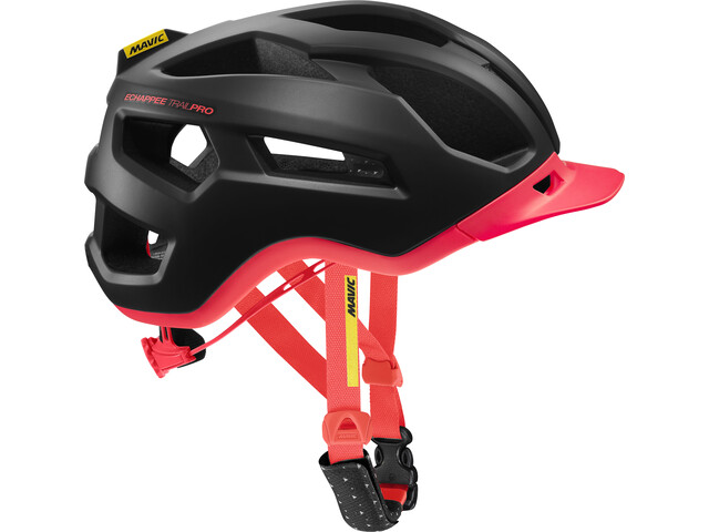 Mavic Echappée Trail Pro Helmet Dame pirate black/fiery coral